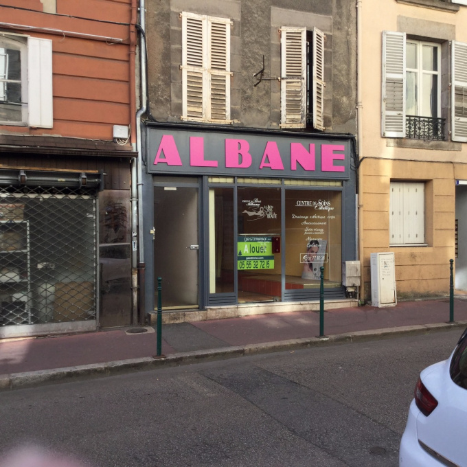 Location Immobilier Professionnel Local commercial Limoges (87000)
